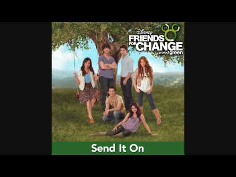 Send It On - Disney Channel Stars (Higest Quality On YouTube)(HD/HQ) Mp3