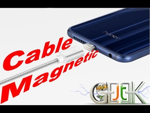 Test vidéo cable magnetique