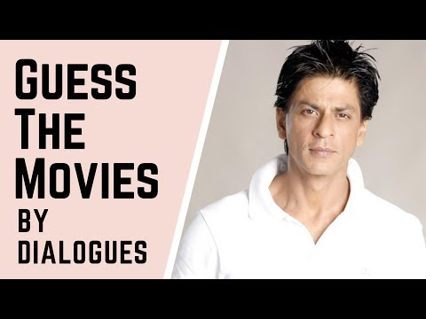 Guess The Movies By Dialogues | Shah Rukh Khan