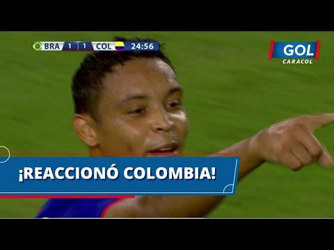 Colombia vs. Brasil: gol de Luis Fernando Muriel, para igualar 1-1 el encuentro