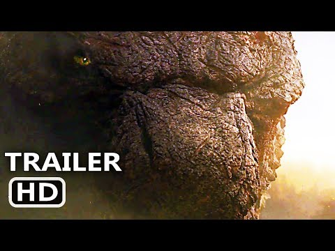 GODZILLA 2 Trailer # 2 (NEW 2019) King of the Monsters, Blockbuster Movie HD