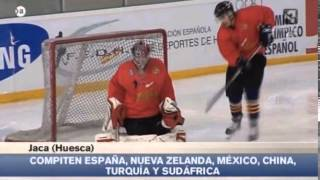 preview picture of video 'Mundial Hockey Hielo Jaca 2014'