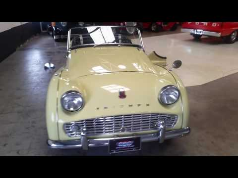 Video of '58 TR3A - LHBY