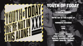 YOUTH OF TODAY - We're Not In This Alone LP - Funhouse Records (1988)