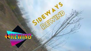 Sideways Rewind trick practice FPV Freestyle Drone