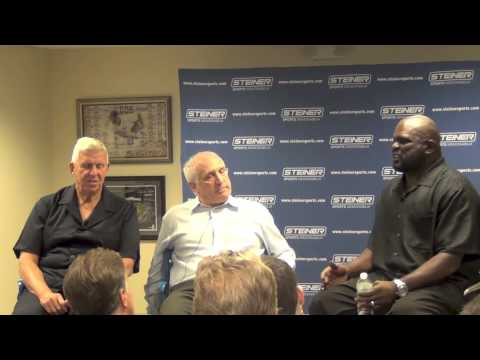 Lawrence Taylor and Bill Parcells Interview with Brandon Steiner