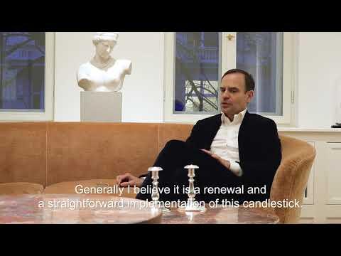 Leuchterpaar aus dem Tafelservice Friedrichs des Großen - Interview mit Alexander Hornemann