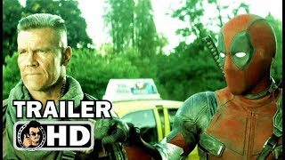 "DEADPOOL 2 ""Friends with Cable"" Trailer NEW (2018) Ryan Reynolds Marvel Movie HD 