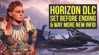 Horizon Zero Dawn DLC Set BEFORE ENDING?! & Way More New Info! (Horizon Zero Dawn Frozen Wilds)