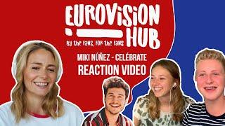 Miki Núñez   Celébrate (Reaction Video)
