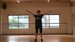 瀬稀先生のダンスレッスン〜膝・つま先・立ち姿を綺麗にする〜のサムネイル画像