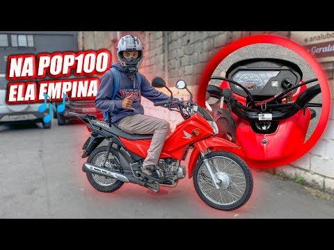 """ESSA MOTO EU COMPRARIA POP110 """"POPIZINHA"""""""
