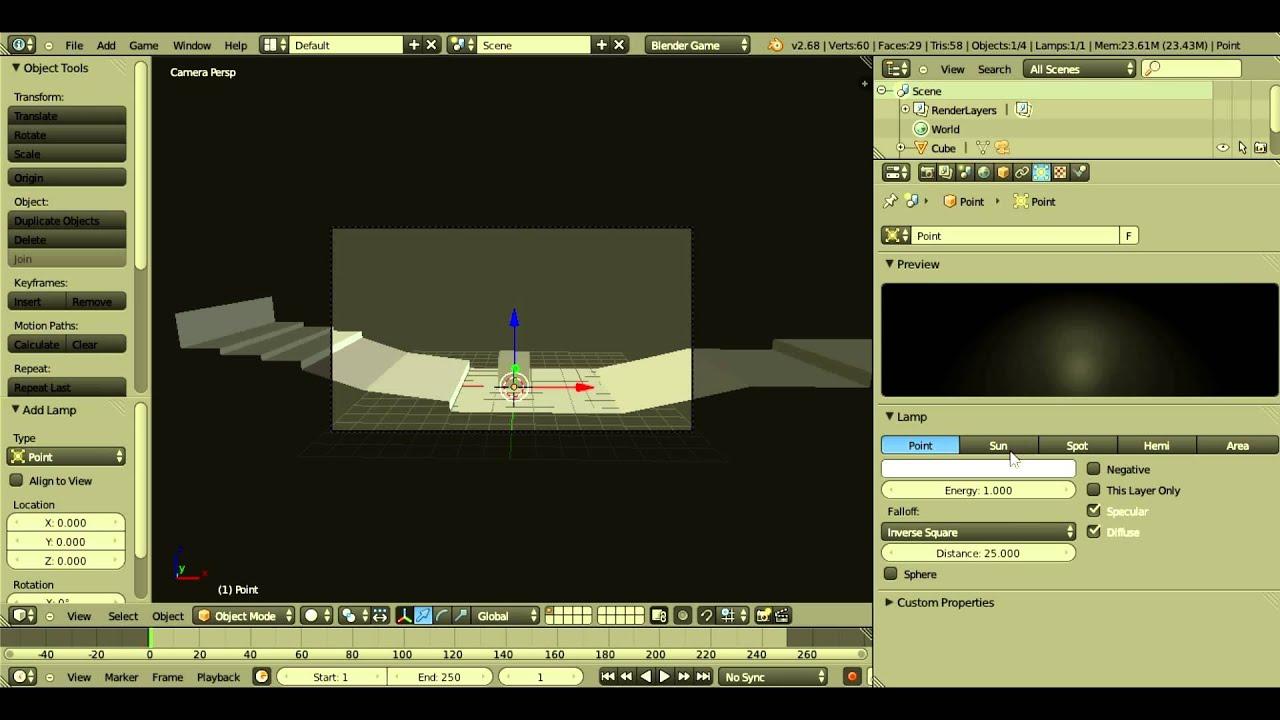 [TUTO] Créer un jeu de plateforme et exporter ses jeux en .exe sur Blender