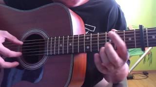 John Butler Trio I'd do Anything Main Riff Guitar Tutorial