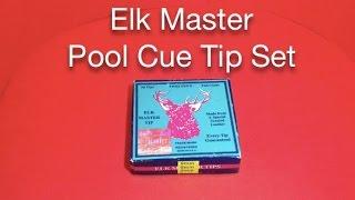 Elk Master Pool Cue Tip Set