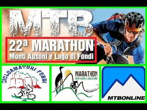 Domenica 22 settembre 2019 si è svolta a Fondi, provincia di Latina, la Marathon dei Monti Ausoni e Lago di Fondi, giunta alla 22a edizione, gara ciclistica di mtb valevole come 9a ed ultima Prova Trofeo Parchi Naturali 2019 e MTB Latinium Legend.