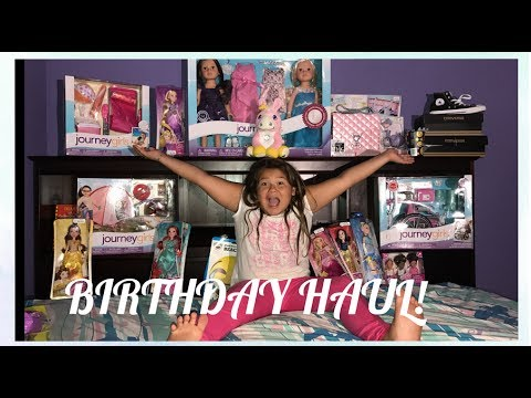IZZY'S 9TH BIRTHDAY HAUL PART 1 | SHOPPING AT TOYS R US
