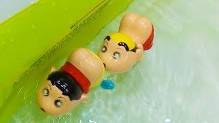 何これ笑クレヨンしんちゃんのおしりでスイスイケツだけ星人のおもちゃショー!CrayonShin-chantoy