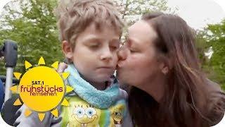 Max (7) wird sterben: Demenz bei Kindern | SAT.1 Frühstücksfernsehen | TV