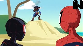Ultimate Spider-Man Return to the Spider-Verse: Part 2 Spider-Man&miles meets Web beard