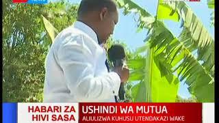 Governor Mutua: I will run for president in 2022