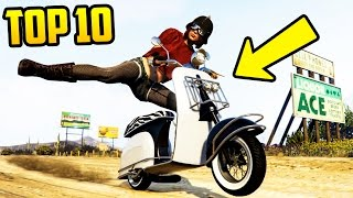 TOP 10 MOST FUN & INTERESTING VEHICLES TO OWN IN GTA 5