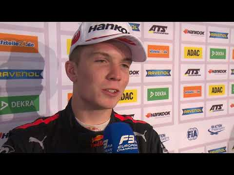 #F3 - 2018 Race of Nürburgring - Dan Ticktum's interview after Race 1
