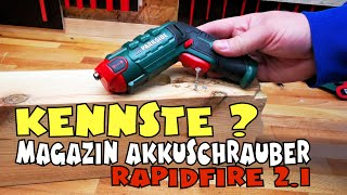 Gute Idee? Lidl - PARKSIDE® Akku-Wechselbitschrauber RapidFire 2.1