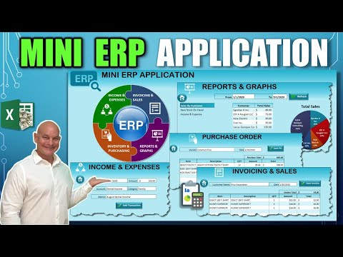 Learn How To Create This Mini ERP Application With Invoicing ...