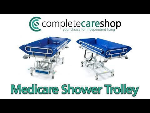 Medicare Shower Trolley