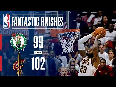 Best of Cavaliers Vs. Celtics Opening Night | Final Five Minutes