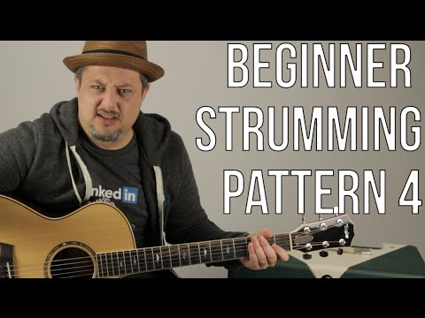 Beginner Strumming Patterns For Acoustic Guitar Pattern 4 - Beginner Guitar Lessons
