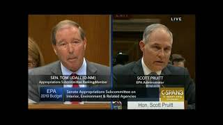 Sen. Udall grills Pruitt about housing search