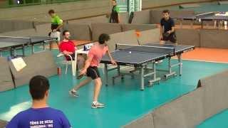 Tenis de mesa - Mario Leao vs Wesley Rosa I copa mg