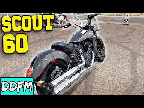 2018 Indian Scout Sixty Ride Review (Indian Motorcycle Tucson)