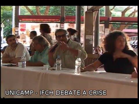 UNICAMP - IFCH DEBATE A CRISE