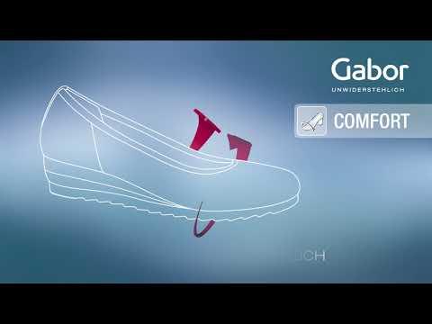 schuhplus - Schuhe in Übergrößen - Gabor comfort Mehrweiten Extra Weite Damenschuhe