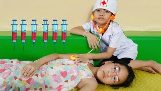 Doctor baby Nursery rhymes song for Kids | Fun indoor playground by LaLa Kids TV