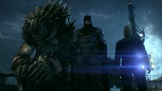 Batman: Arkham Knight (PS4)(Batman V Superman Skin Walkthrough) [Part 11] Killer Croc