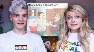 how to be gay... (according to WikiHow)