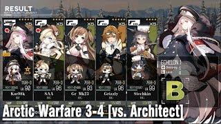 Kar98k  - (Girls' Frontline) - Girls' Frontline   [Kar98k vs. AW3-4's Architect]