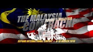 Practice 1 Sepang International Circuit Malaysia 2019 ARRC
