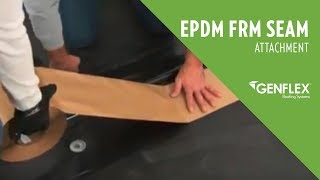 EPDM FRM Seam Attachment