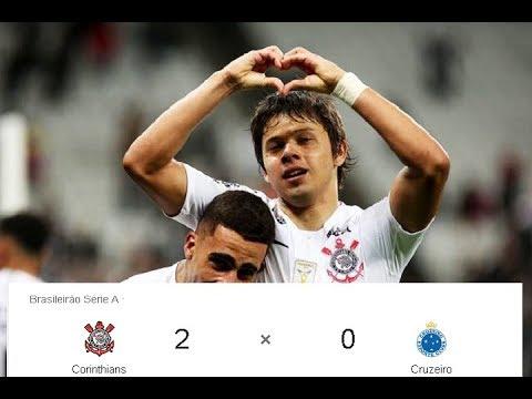 Corinthians 2 x 0 Cruzeiro  - Melhores Momentos - Brasileirão