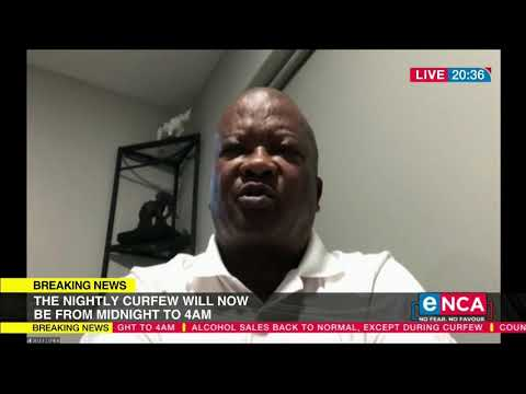 SA moves to Alert Level 1 UDM leader Bantu Holomisa reacts to announcement
