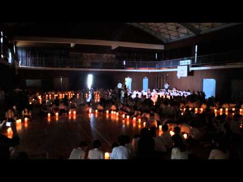 ピースキャンドル2014伴小学校合唱