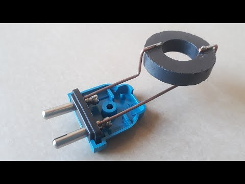 Free energy experiment using blades - смотреть онлайн на Hah
