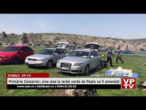 Primăria Comarnic: cine iese la iarbă verde de Paște va fi amendat