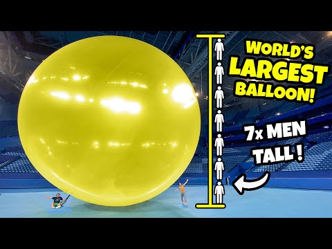 Popping the World's Largest Balloon