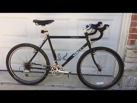 "Brooks The Tank Bicycle SURLY Long Haul Trucker Touring Bike Review 2 "" tires"